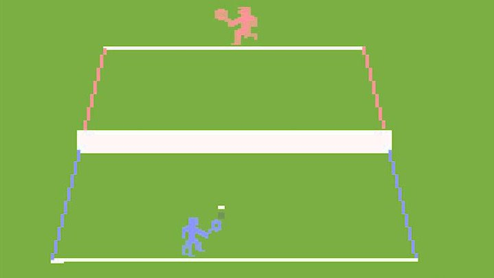 Resultado de imagem para tennis atari 2600
