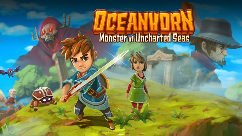 Oceanhorn - Artwork