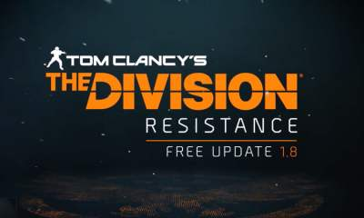 Tom Clancy's The Division Update 1.8