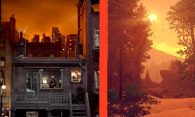 Cut Scenes: Firewatch vs. Rear Window