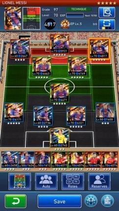 PES Card Collection - Screenshot