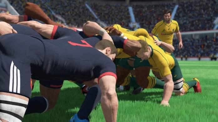Rugby 18 scrum