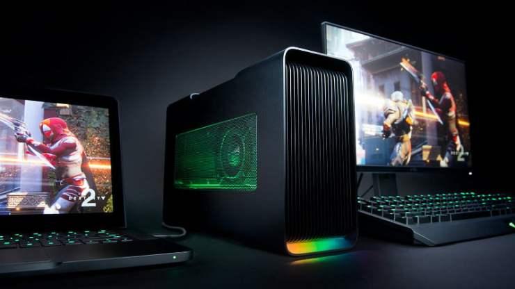 Upgraded Razer Core v2