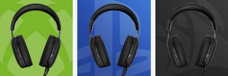 Corsair HS50 headset colours