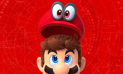 Super Mario Odyssey - art