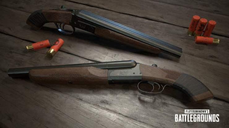 PUBG sawn-off shotgun