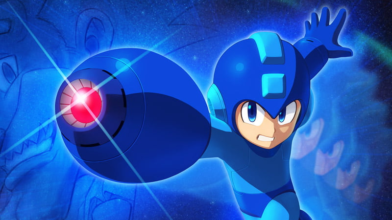 Mega Man 11 art