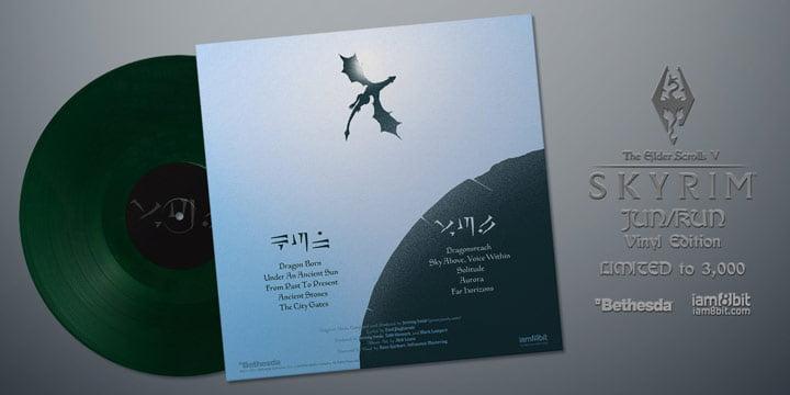 Skyrim vinyl soundtrack - iam8bit
