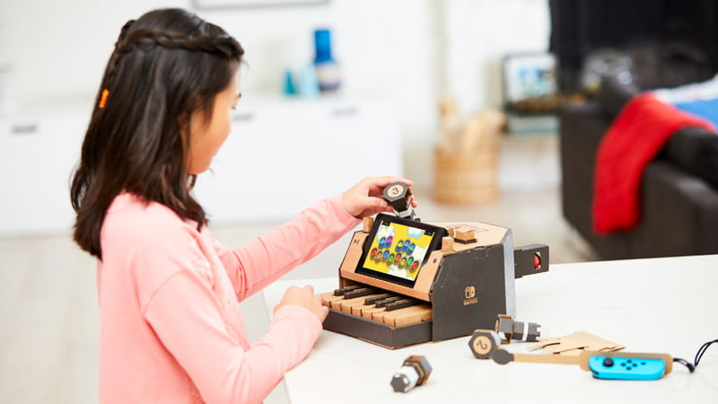 Nintendo Labo in pictures – Thumbsticks