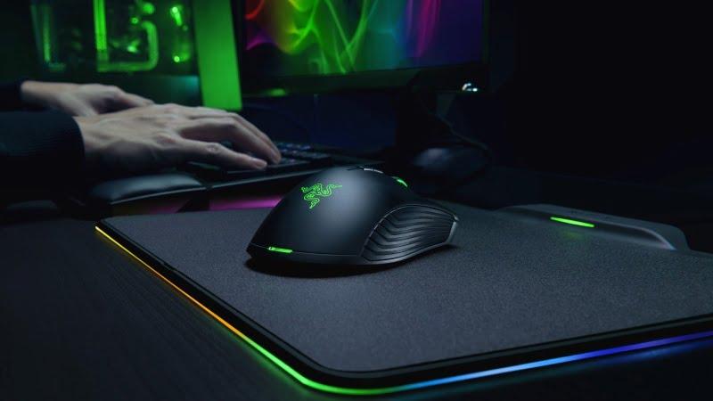 Razer Unveils Wireless Mamba HyperFlux Mouse, Firefly HyperFlux Mouse Mat