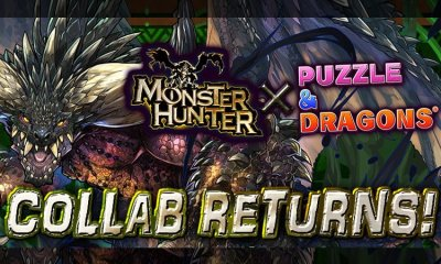 Monster Hunter returns to Puzzle & Dragons today