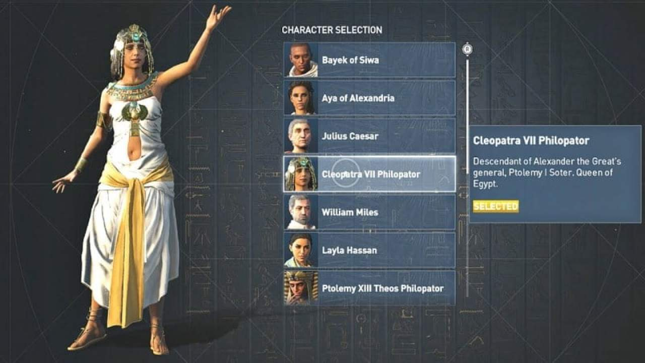 The Full List Of Assassin S Creed Origins Discovery Tour