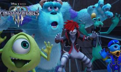 Kingdom Hearts III Monsters Inc trailer