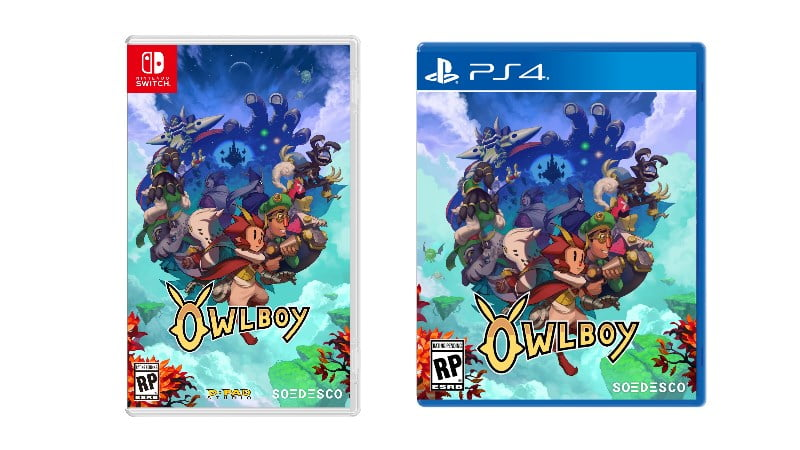 'Owlboy' (ALL) Confirms PS4 And Switch Retail Platforms, Date - Trailer