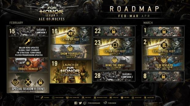 For Honor roadmap