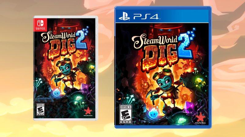 SteamWorld Dig 2 coming to Nintendo 3DS next week
