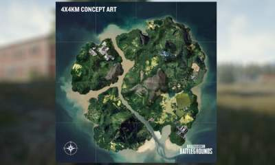 PUBG 4x4km map