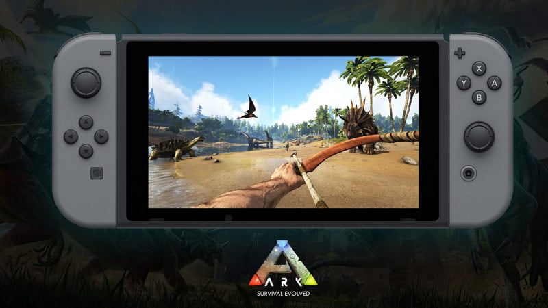 ARK: Survival Evolved is heading to Switch in spring 2018