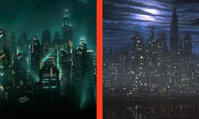 Cut Scenes: BioShock vs. Batman