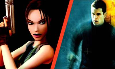 Lara Croft and Jason Bourne