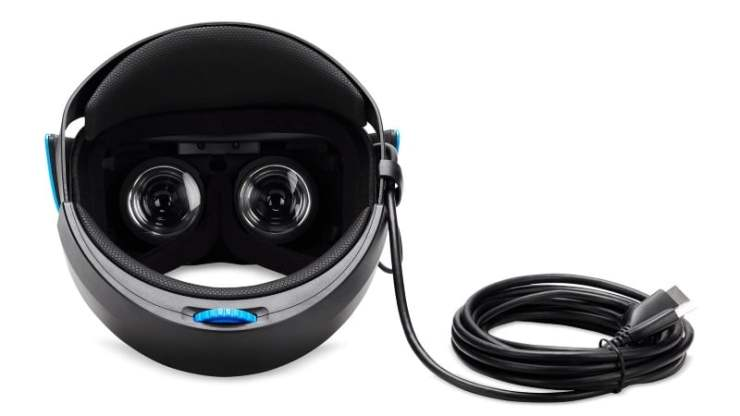 Acer Mixed Reality Headset rear