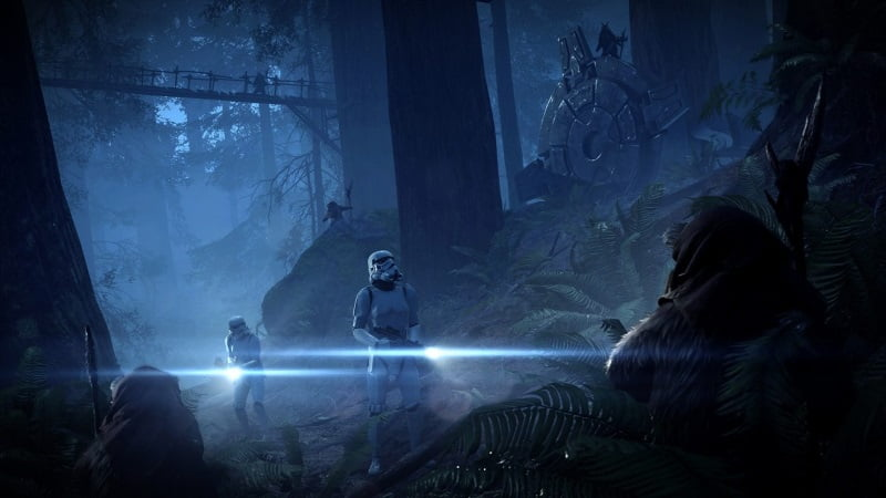 'Star Wars Battlefront II' adds Ewoks to 'Night on Endor'