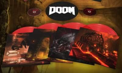 Doom Soundtrack CD and vinyl