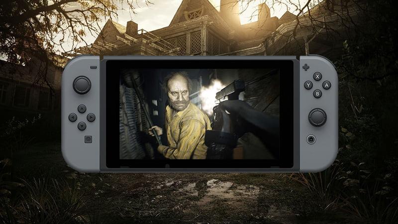 Resident Evil 7- Biohazard Cloud Version Switch