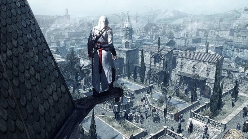 Assassin's Creed climbing