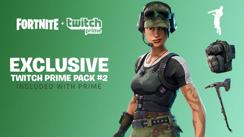 Fortnite Twitch Prime Pack #2