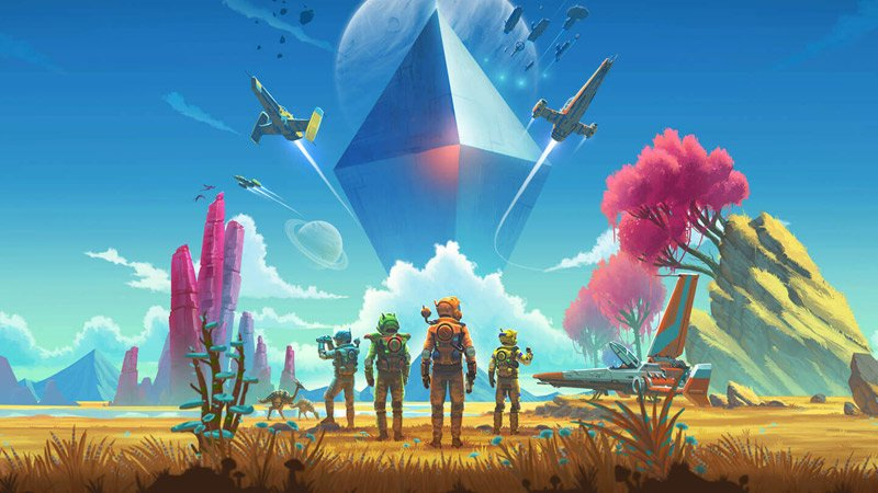 No Man's Sky on Xbox One Will Launch With Multiplayer
