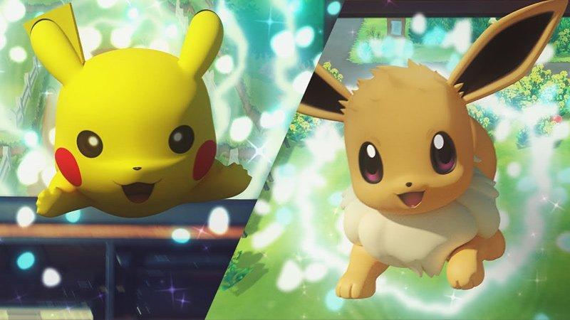 Pokémon Let's Go Pikachu and Let's Go Eevee