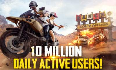 PUBG Mobile - 10 million users