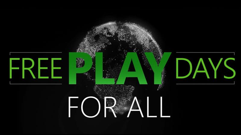 Xbox One - Free Play Days
