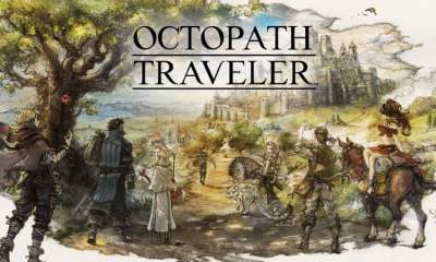 Octopath Traveler art