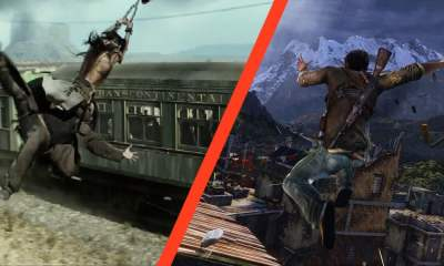 The Lone Ranger vs Uncharted 2