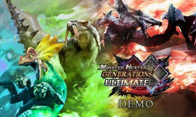 Monster Hunter Generations Ultimate - Nintendo Switch demo