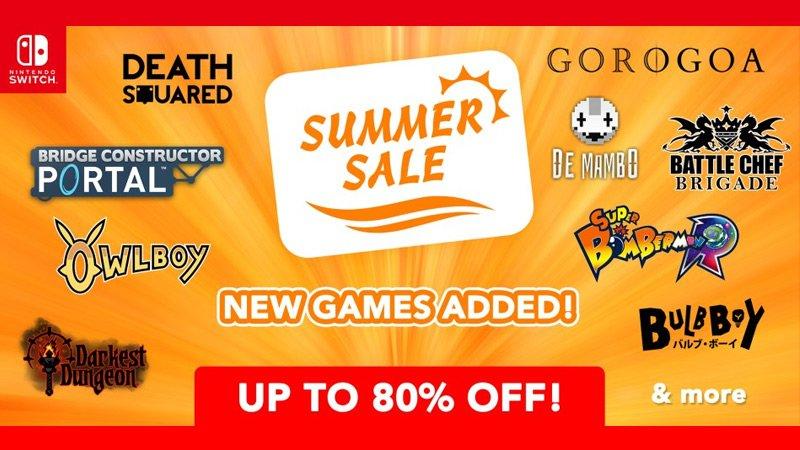 Nintendo eShop Summer Sale