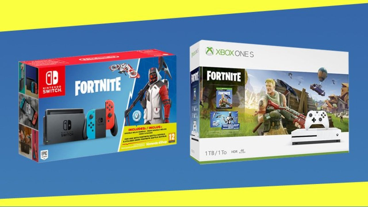 New Xbox One And Nintendo Switch Fortnite Bundles Are On Sale Now Thumbsticks