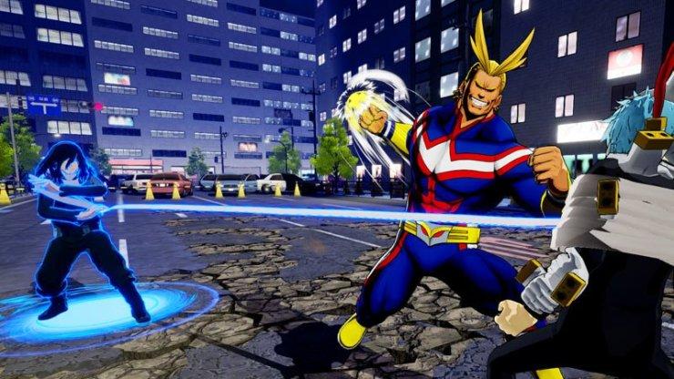 My Hero One's Justice - DLC