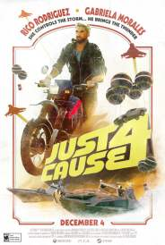 Just Cause 4 1970s movie poster