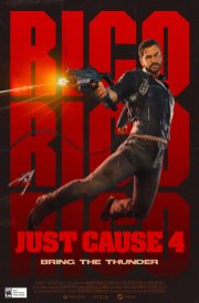 Just Cause 4 1980s movie poster