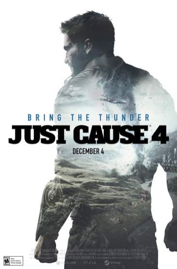 Just Cause 4 2010s movie poster