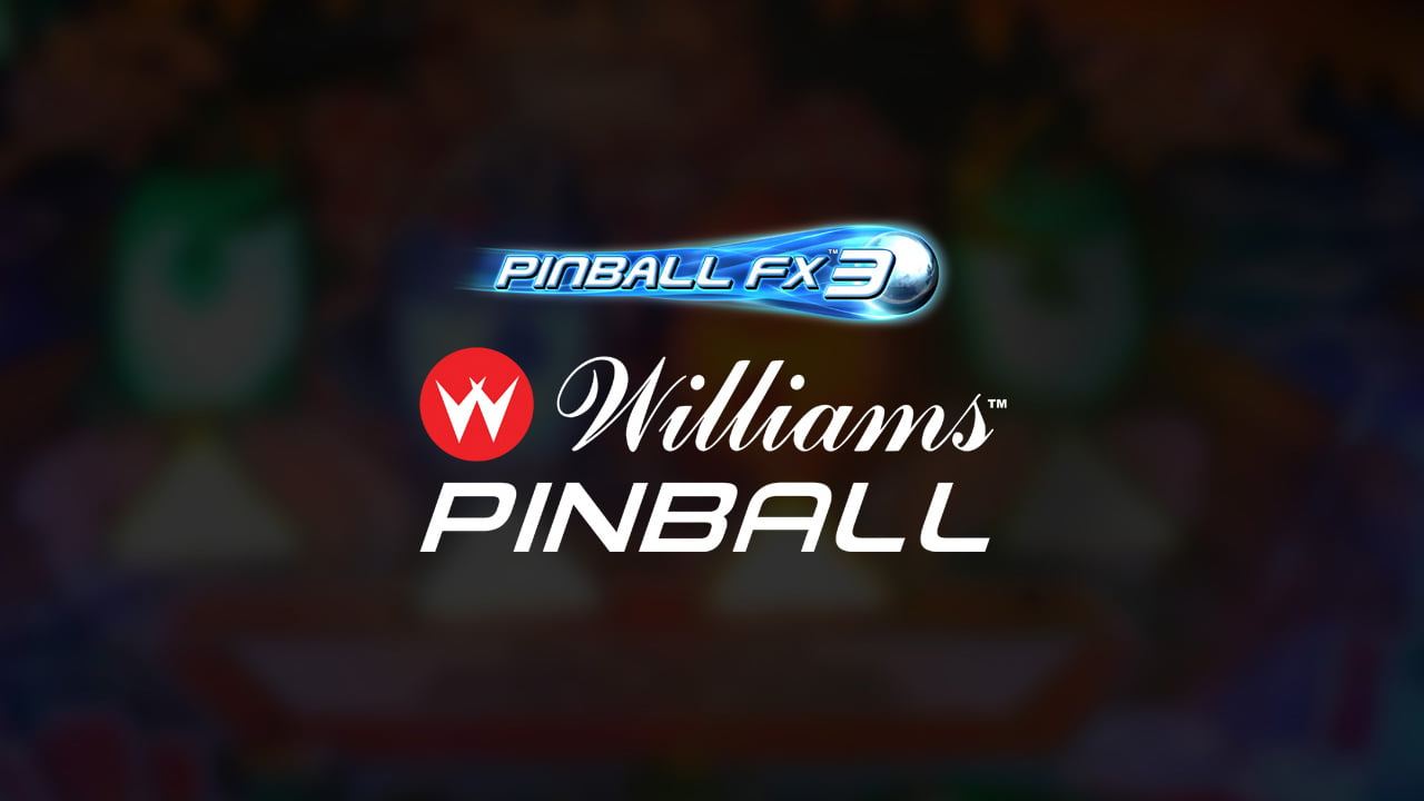 New Williams tables are now available for Pinball FX3