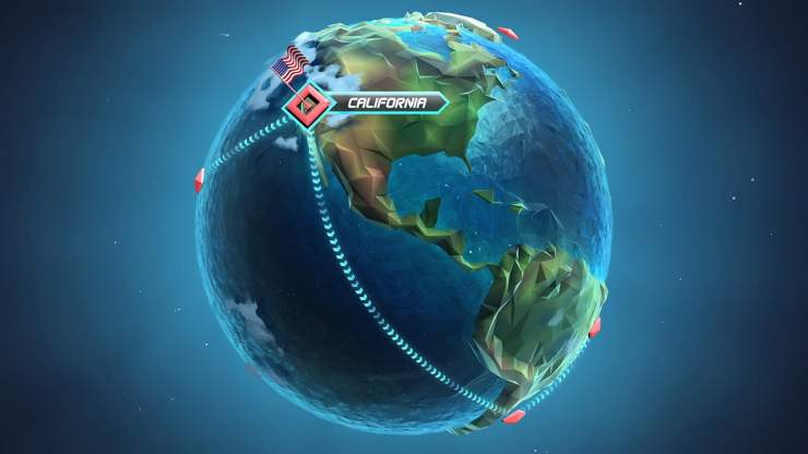 Horizon Chase Turbo world tour