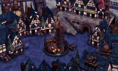 Upscaled Final Fantasy VII background