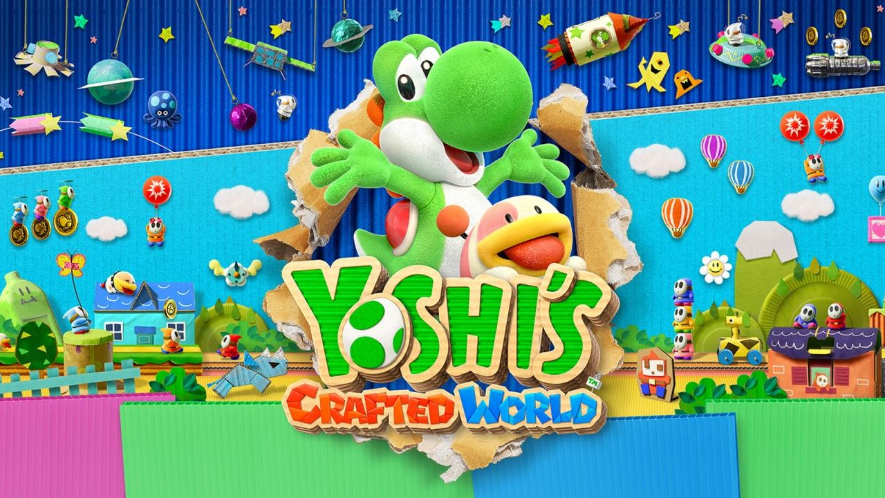 Yoshi's Crafted World demo now available for Nintendo Switch