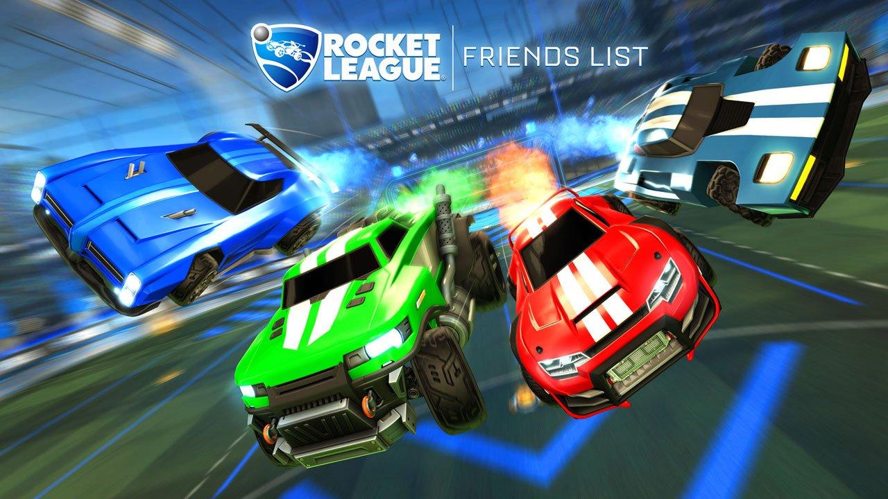 Rocket League's cross-platform party system arrives next week