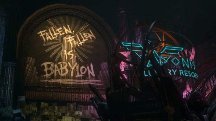 Bioshock - Fallen is Babylon