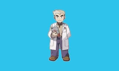 Professor Oak - Pokemon
